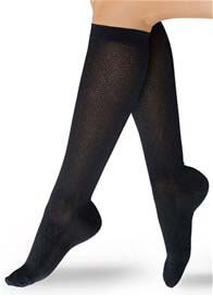 Preggers - Diamond Pattern Compression Trousers Socks