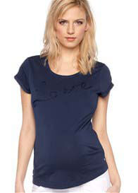 Esprit - Love Tee in Blue - ON SALE