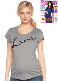 Esprit - Love Tee in Grey