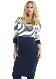 Queen Bee Long Sleeved Maternity Knit Dress by Esprit