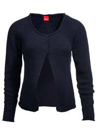 Queen Bee Navy Blue Maternity Knit Cardigan by Esprit