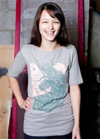 MamaFeelsGood - Grey Unicorn Nursing Tee