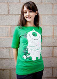 MamaFeelsGood - Green Monster Stan Nursing Tee