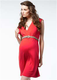 Queen Bee Norsewood Red Maternity Dress by Noppies