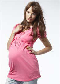 Queen Bee Balfour Pink Maternity Blouse by Noppies