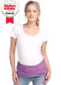 Queen Bee Lavender Maternity Belly Band by Esprit
