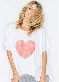 Fillyboo - My Love Your Love Heart Sequin Tee