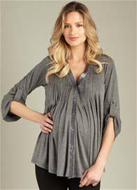 Maternal America - Pleated Tunic -  ON SALE
