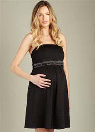 Maternal America - Strapless Jewelled Dress - ON SALE