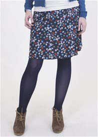 Queen mum - Leaf Print Skirt - ON SALE