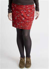 Queen mum - Flower Print Skirt - ON SALE