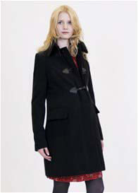 Queen mum - Black Duffle  Coat