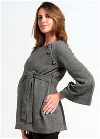 Pomkin - Balthazar Nursing Poncho in Grey