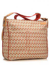 Queen Bee Suzi Baby Nappy Bag in Kasbah Red Print by Storksak