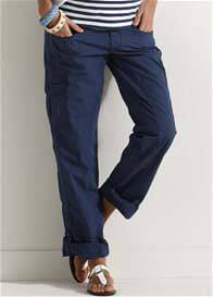 Esprit - Navy Cargo Pants - ON SALE