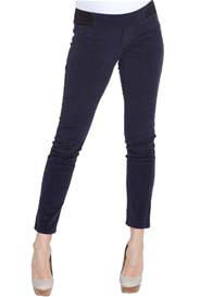 NOM - Navy Corduroy Leggings - ON SALE