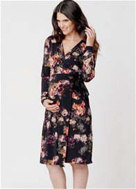 Ripe Maternity - Monet Print Wrap Dress