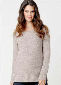Ripe Maternity - Weekend Knit Jumper in Frappe