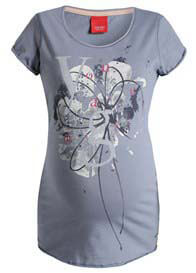 Queen Bee You Are Magic Maternity Tee in Stonegrey by Esprit