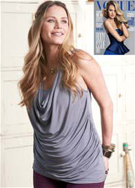 Queen Bee Cassie Draped Nursing Tunic Top by Floressa Clothing