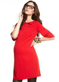 Queen Bee Florence Red Maternity Dress by More of Me