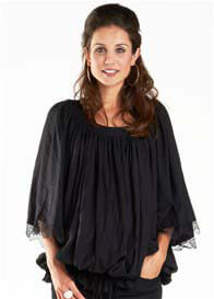 Fillyboo - As it Flows Top in Black