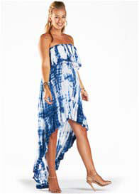 Fillyboo - Gypsy Dress in Navy Tie Dye