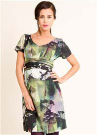 Queen Bee Tree Print Maternity Dress by Fragile Maternity