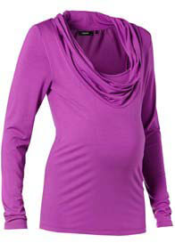 Queen Bee Gabi Maternity/Nursing Top in Purple by Noppies