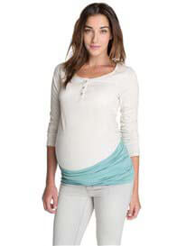 Queen Bee Azul Blue Maternity Belly Band by Esprit