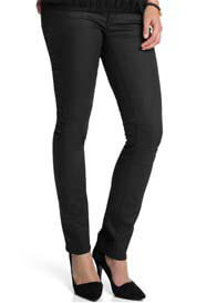 Queen Bee Black Slim Leg Under Bump Maternity Pants by Esprit