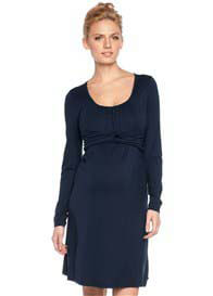 Esprit - Intertwined Dress in Navy - ON SALE