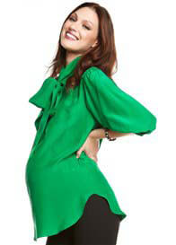 More Of Me - Betty Blouse in Green - ON SALE