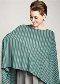 Queen Bee Maternal America - Mojito Green Stripe Nursing Scarf