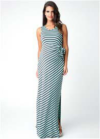 Ripe Maternity - Spearmint Stripe Maxi Dress
