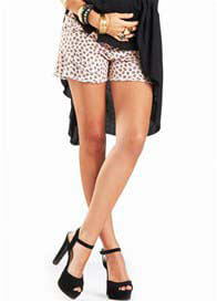 Fillyboo - Cut-Off Shorts in Caramel Leopard