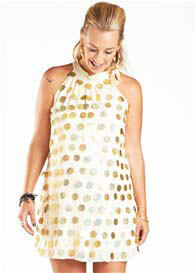 Fillyboo - Honey Honey Dress in Gold