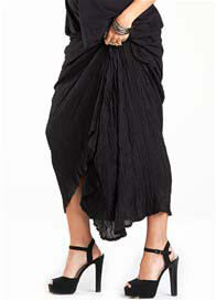Fillyboo - Kit Kat Maxi Skirt in Black