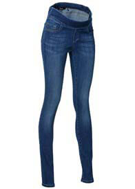 Queen Bee Fabi Mid Blue Wash Maternity Jeggings by Noppies
