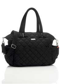 Queen Bee Bobby Black Baby Nappy Bag by Storksak
