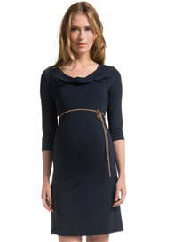Queen Bee Dyanne Dark Blue Maternity Nursing Dress by Noppies