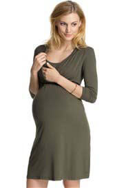 Queen Bee Urbane Maternity/Nursing Dress in Laurel by Esprit