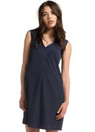 Esprit - Origami Dress in Space Blue