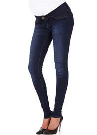 Queen Bee Reina Deep Sateen Super Skinny Maternity Jeans by Mavi