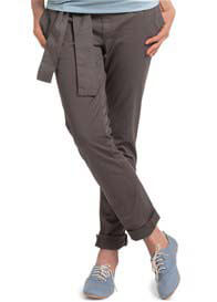 Queen Bee Chino Maternity Pants in Grey Moss by Esprit
