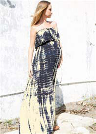 Fillyboo - Because Wow Maxi Dress in Licorice Tie Dye