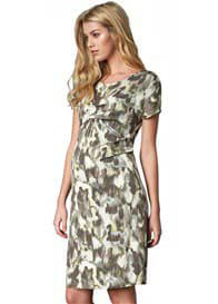Crave - Olive Print Dress - ON SALE