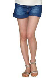 Crave - Faded Denim Shorts - ON SALE