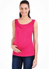 Pomkin - Milkizzy Marie Nursing Top in Fuchsia - ON SALE