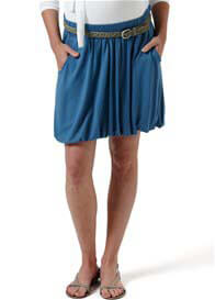Queen Bee Jasmin Blue Maternity Skirt by Noppies